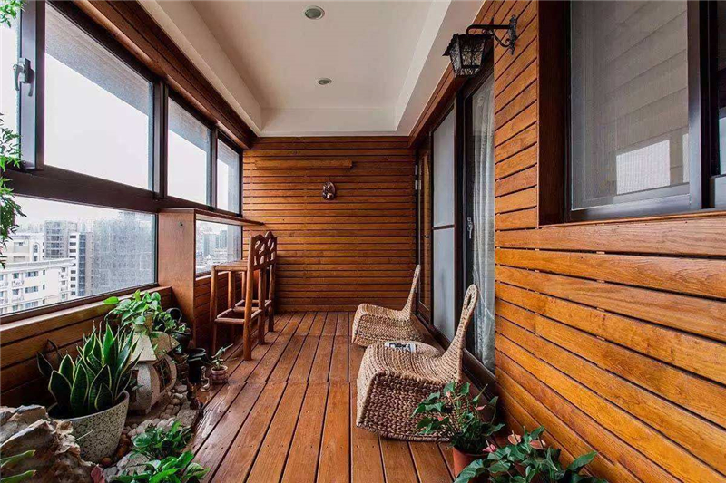 新房装修流程中阳台装修指南效果图